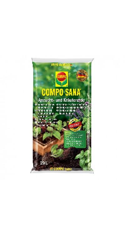 COMPO SANA Substrát pro bylinky a výsev