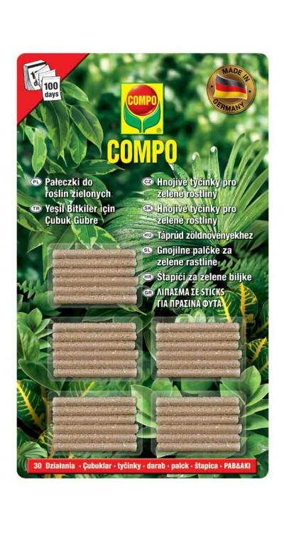 COMPO Hnojivé tyčinky pro zelené rostliny