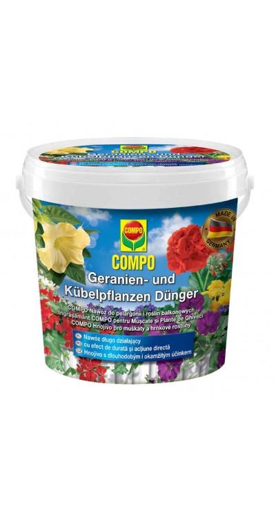 COMPO Hnojivo pro muškáty a hrnkové rostliny s dlouhodobým účinkem