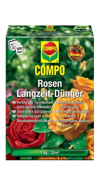 COMPO Hnojivo pro růže s dlouhodobým účinkem