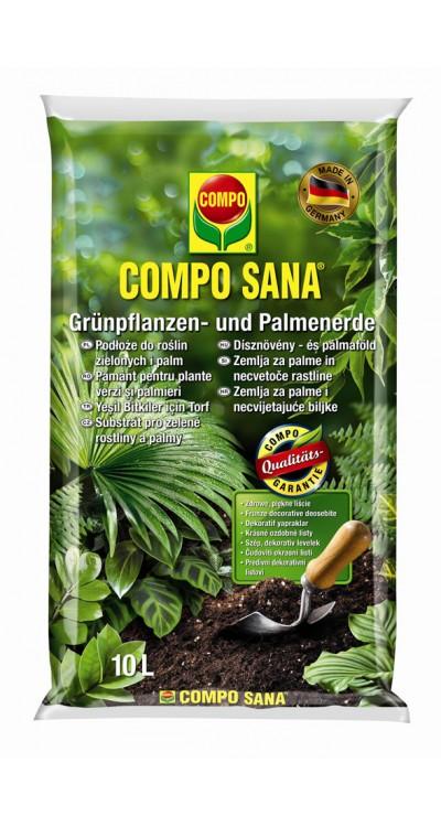COMPO SANA substrát pro zelené rostliny a palmy