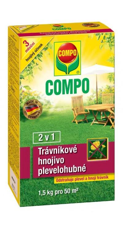 COMPO Trávníkové hnojivo plevelohubné