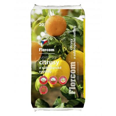 Substrát pro citrusy a subtropické rostliny