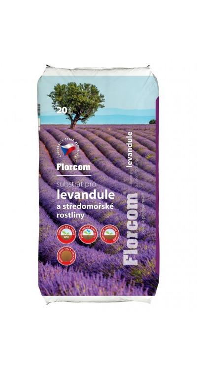 Substrát pro levandule a středomořské rostliny
