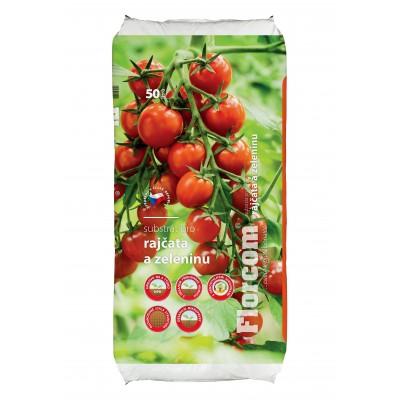 Substrát pro rajčata a zeleninu