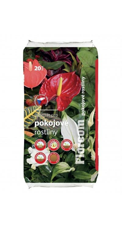 Substrát pro pokojové rostliny