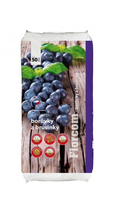 Substrát pro borůvky a brusinky