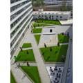 Střešní park uvnitř komplexu Titanium Brno (GREENVILLE)