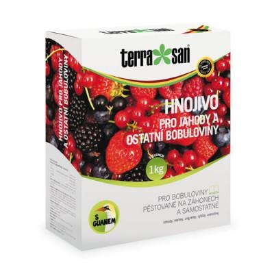 Hnojivo pro jahody a ostatní bobuloviny s guanem