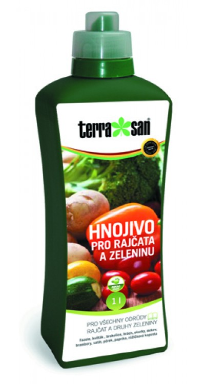 Hnojivo pro rajčata a zeleninu
