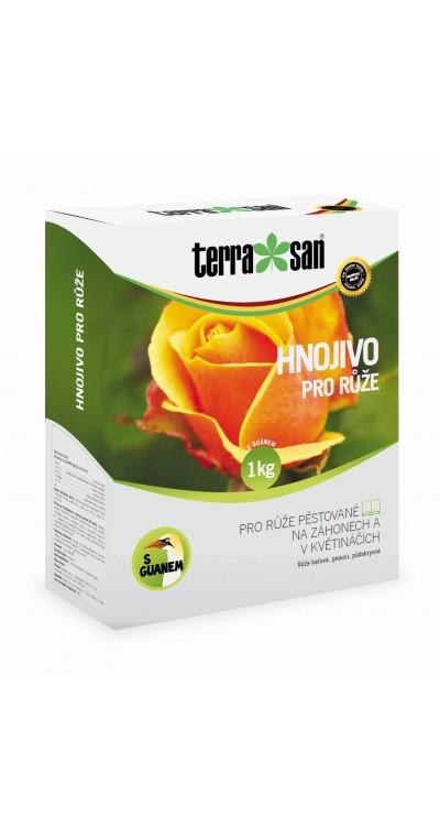 Hnojivo pro růže s guanem