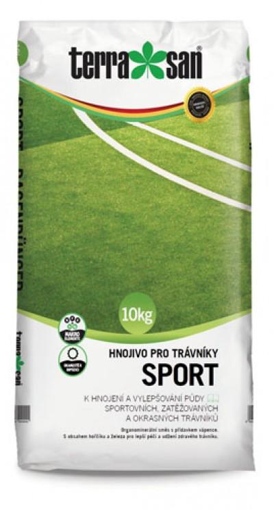 Hnojivo pro trávníky – sport