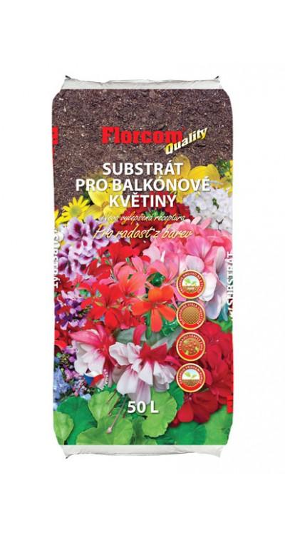 Substrát pro balkónové rostliny
