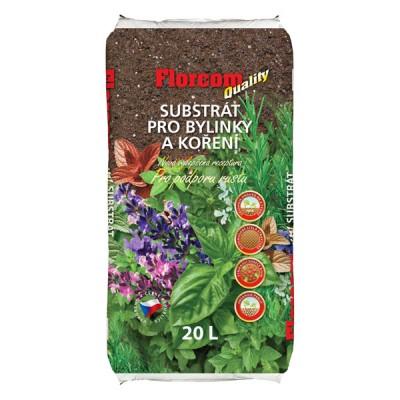 Substrát pro bylinky a koření