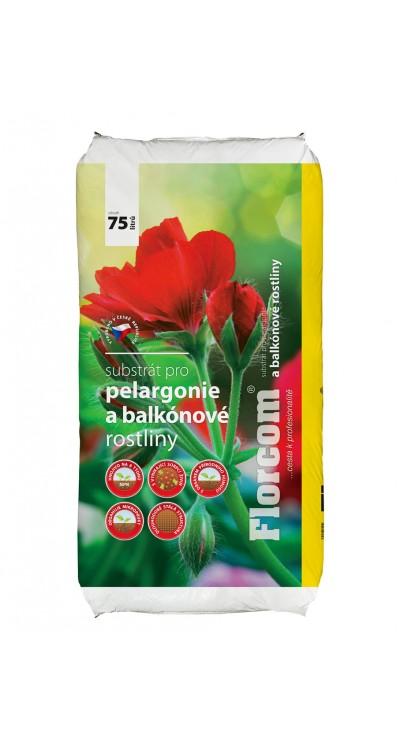 Substrát pro pelargonie a balkónové rostliny