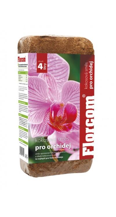 Kokosový substrát pro orchideje