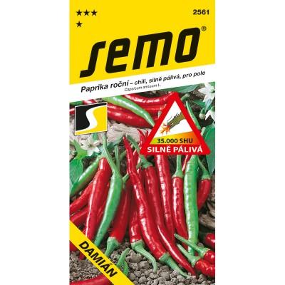 Paprika roční pálivá (chili) DAMIÁN