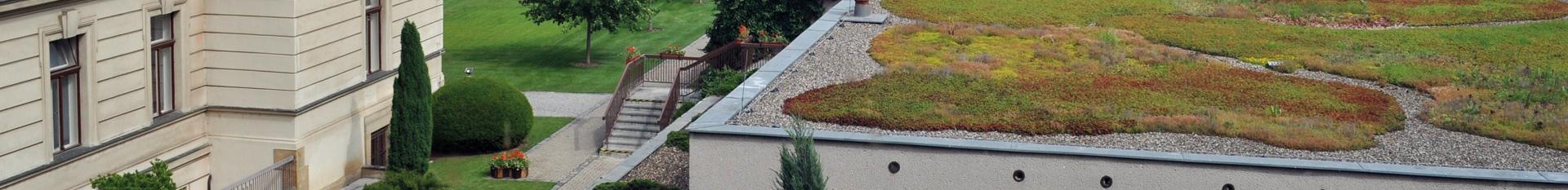 Příslušenství pro vegetační střechy